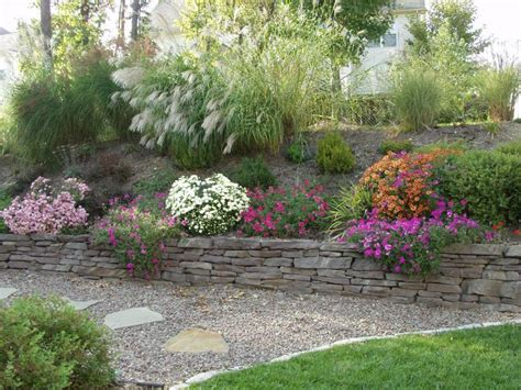 Retaining Wall Landscaping Ideas with Retaining Wall Landscaping Ideas Pinterest
