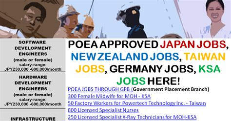Work From Home Online Jobs In Germany - poea approved japan jobs new zealand jobs taiwan jobs germany jobs ksa jobs here