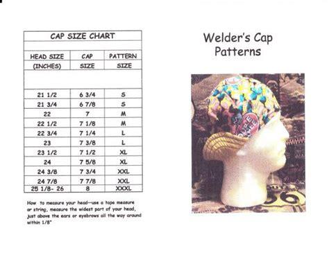 pattern welding tutorial pdf welder s hat cap pattern for 6 panel short crown