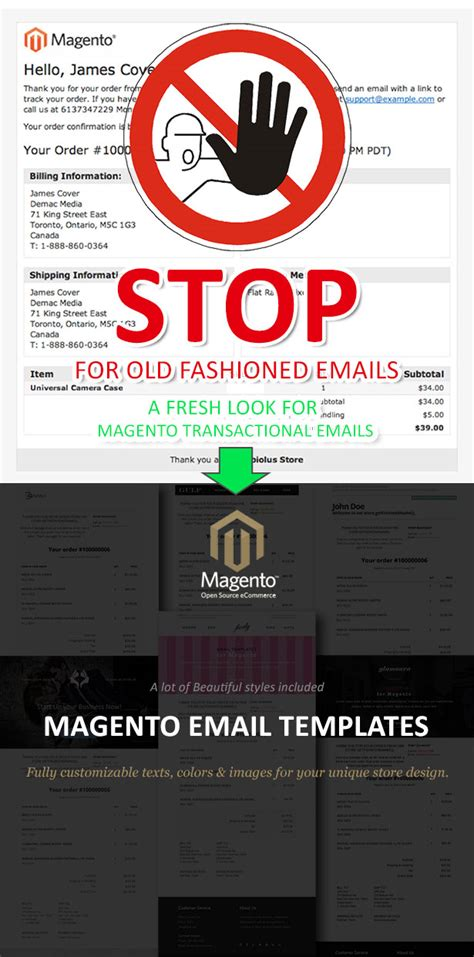 magento email templates by jopin codecanyon