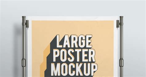 html5 website template free psd poster mockup presentation vol2 psd mock up