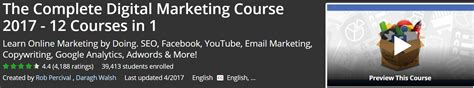 Digital Marketing Degree Course 1 by Top Udemy Courses That You Can Use Skillsfuture Credits To