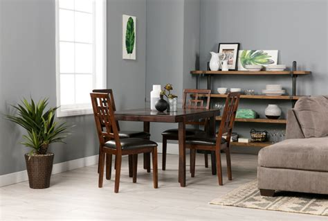 cimeran 5 piece dining set living spaces