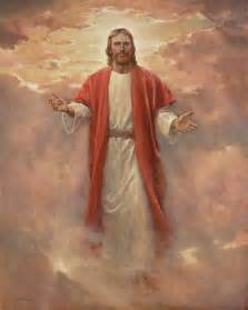 In his glory painting by del parson