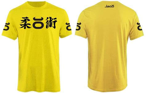 Tshirt Jaco Kanji Abu jaco jiu jitsu t shirt