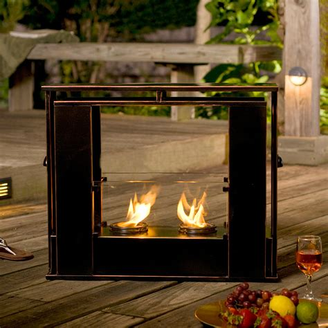portable fireplace 24 quot holly martin walton portable indoor outdoor gel