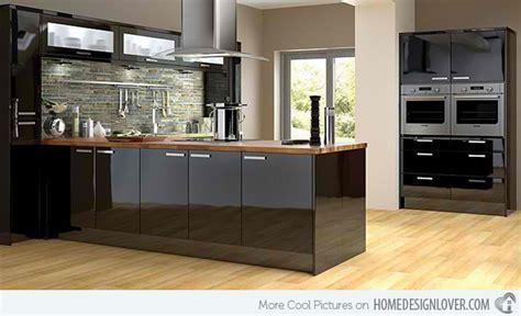 black kitchen ideas 15 bold and black kitchen designs fox home design