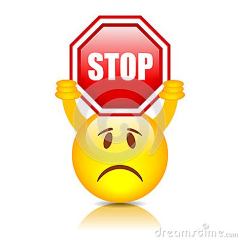 smiley  stop sign stock image image