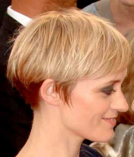 short hairstylescuts for fine hair with back and front view 20 haircuts for short fine hair short hairstyles 2016