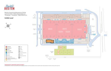 boston convention center floor plan meeting rooms signature boston