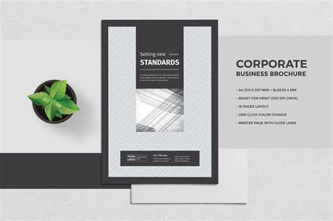 professional brochure templates free 25 best professional brochure templates
