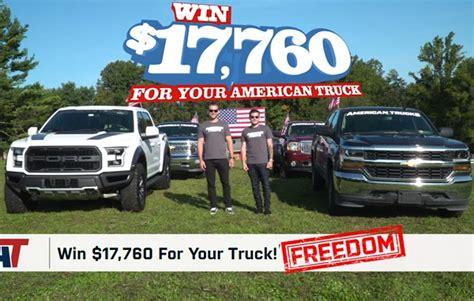 American Sweepstakes Phone Number - american trucks the american build giveaway sweepstakesbible