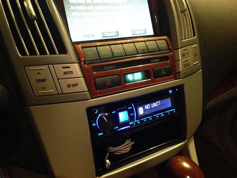 security system 2004 lexus is navigation system aftermarket stereo in 2004 rx330 with nav clublexus lexus forum discussion