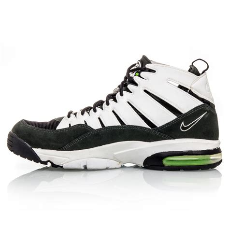 nike green and white basketball shoes nike air trainer max 2 94 mens basketball shoes black