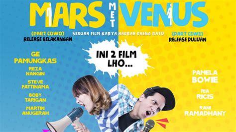 film bioskop indonesia mars dan venus mars met venus porsi cewe selalu dominasi hubungan
