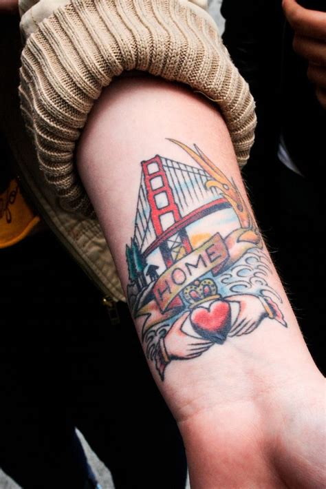 san francisco california tattoos