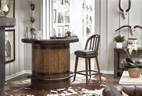 heartland falls home bar set pulaski furniture  reviews