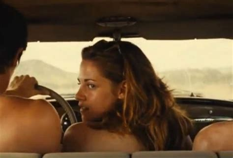 wanted movie actress name hollywood i really wanted to do on the road sex scenes says kristen