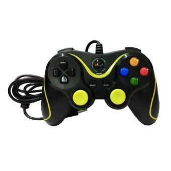 Stik Pc Usb Sigle Hitam xtech gamepad single usb pc controller xg 881d high
