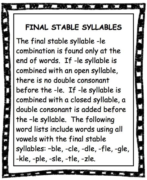 vcv pattern definition syllable worksheets for second grade syllable best free