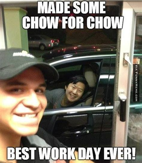 Mr Chow Meme - funny memes some chow for mr chow thank you captain