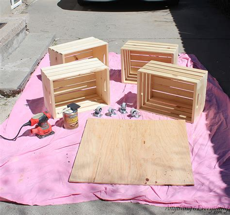 Hometalk Diy Crate Coffee Table How To Make A Crate Coffee Table