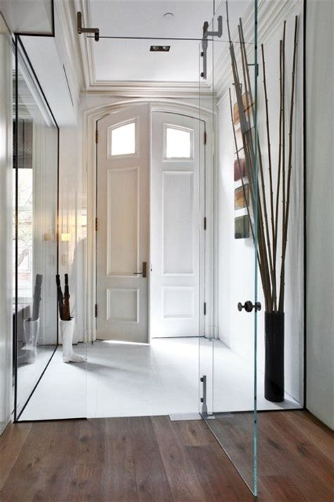 townhouse entryway ideas west village townhouse contemporary entry new york