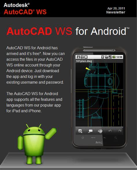 ya disponible autocad  android el androide libre