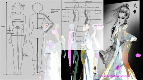 fashion design requirements human body measurements british standards