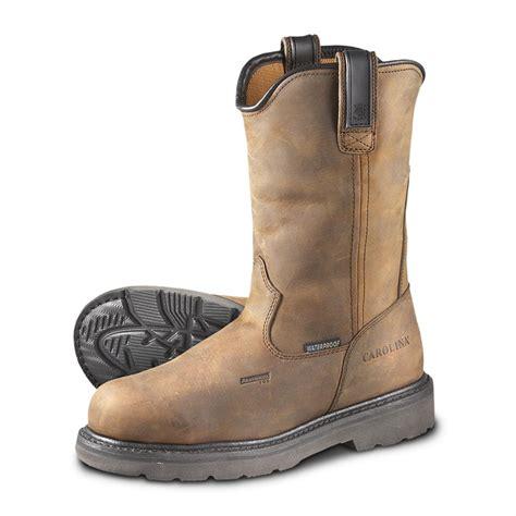 mens cowboy work boots s carolina 174 10 quot waterproof aluminum toe wellington