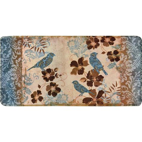Anti Fatigue Kitchen Rugs Home Dynamix Relaxed Chef 19 6 In X 39 3 In Anti Fatigue Kitchen Mat 4a Rc11 The Home Depot