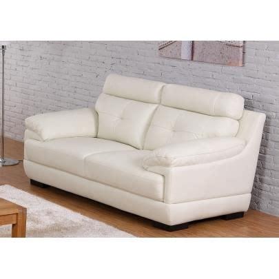 poltrone sofa siena canap 233 2 places en cuir de buffle manuella blanc achat