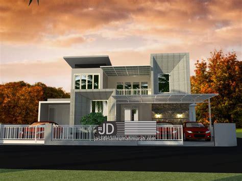 desain rumah modern kontemporer ibu nurhayati ulfia