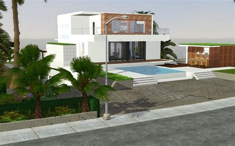 modern house blog my sims 3 blog modern house by zveki