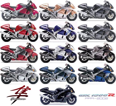 Suzuki Paint Colors Suzuki Photos Suzuki Hayabusa All Colors 2003 Jpg