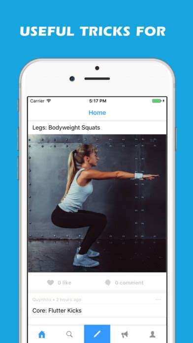 app shopper at home workouts books