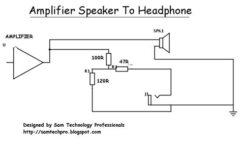 adding resistor to headphone sam technology professionals how to use speaker output for headphones easily