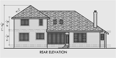 side load garage house plans traditional house plan w master bedroom on the main floor