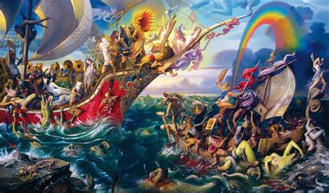 imagenes pinturas extraordinarias pinturas grotescas y surrealistas de prateep kochabua