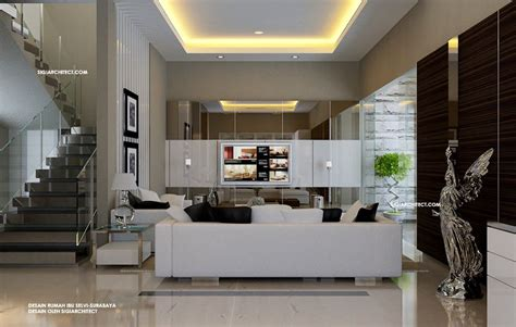 rumah minimalis tropis interior  fasad rumah tropis pinterest interiors living rooms