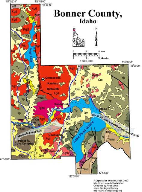 Bonner County Records Bonner County Maps My