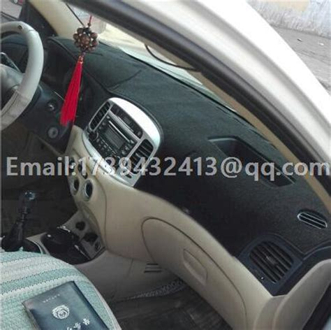 Hyundai Avega 2008 car dashmats car styling accessories dashboard cover for hyundai accent era brio avega verna