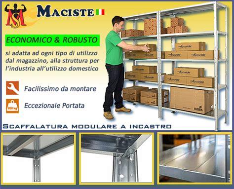 scaffali incastro scaffalatura modulare ad incastro h2000