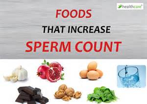 good diet can increase count