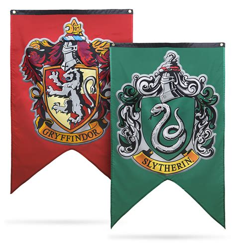 houses of harry potter harry potter houses of hogwarts banners