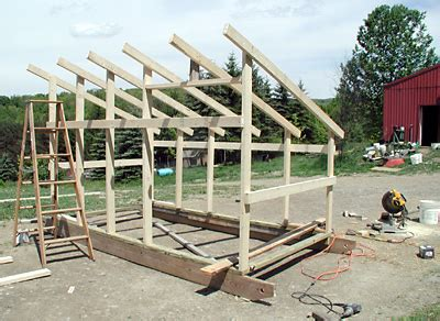 weekend project movable goat shed rooster hill farm