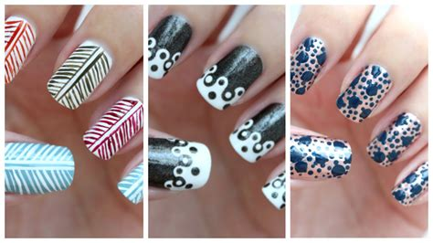easy nail art on dailymotion easy nail art for beginners 25 jennyclairefox youtube