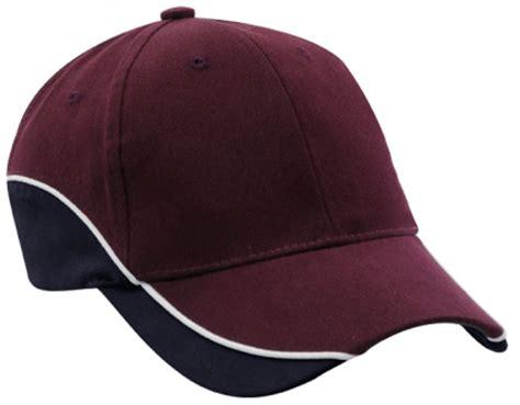 Baseball Cap Maroon custom baseball hats decorated with your customized logos