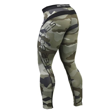 Legging Olah Raga Better Bodies better bodies camo tights 171 branch warren