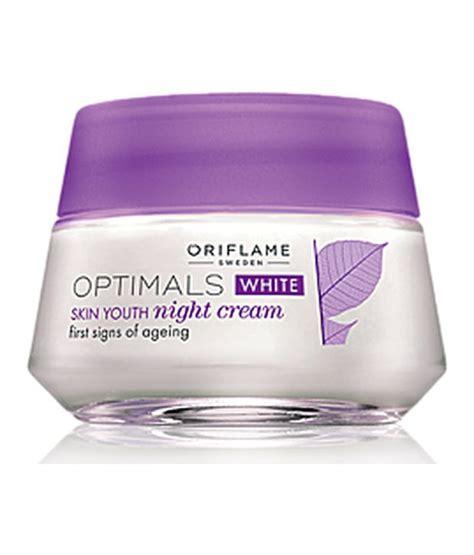 Optimals Skincare By Orifalame oriflame optimals white skin youth 50ml buy